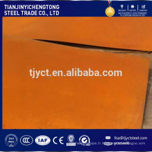 Plaque corten / corten (A, B) JIS G3125 SPA-H SPA-C 1,5 mm