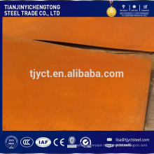 JIS G3125 SPA-H SPA-C 1.5mm Corten Plate / Corten (A, B) Sheet