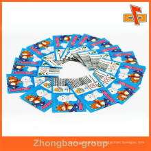 Made in china customizable shrinkable water proof heat sensitive printable medicine bottle label with your design