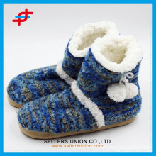 Winter Indoor / Outoor Warme Anti-Rutsch-Slipper Snow Boots