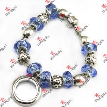 Pulsera de la perla de los granos de la manera para la joyería de la pulsera de las mujeres (LB201)