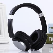 FM-приемник Металлические наушники с повязкой на голову Bluetooth