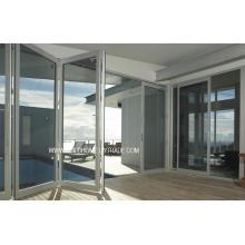 Portas de alumínio dupla de vidro dupla com controle térmico