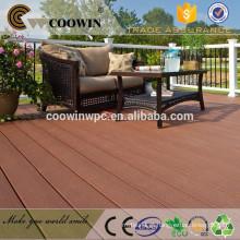 Assoalho decking composto de madeira de borracha