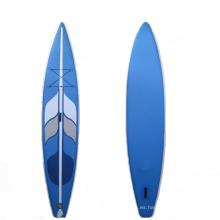 Ad hinchable de surf personalizado se levantan tres cámaras de paddle board