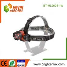 Fuente de la fábrica Precio barato ABS Material plástico 3 * AAA batería 1watt conducido Mineros de carbón Faro
