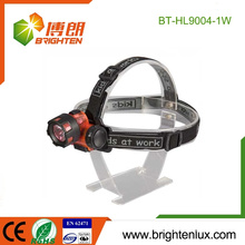 Factory Supply Cheap Price ABS Plastic Material 3*AAA battery Operated 1watt led Coal Miners Headlamp
