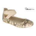 Chaussures élastiques à ballet plat pour femme Chaussures décontractées