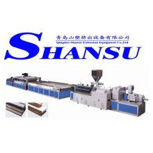 Machine d'extrusion de panneau de porte en bois de PVC / ligne d'extrusion