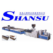PVC wood door board extrusion machine/ extrusion line