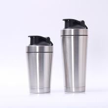 Sports Water Bottle Double Wall Stainless Steel Protein Shaker bottle