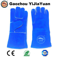 Reinforcement Heat Resistant Leather Hand Welding Gloves with Ce En12477