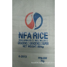 CH PP Woven Rice Bag