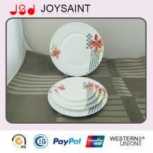 Опаловый набор посуды из стекла