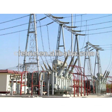 Three phase kema tested oil immersed type 220kv transformer
