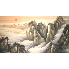 Wall Decor Handmade Classical Landscape Oil Painting