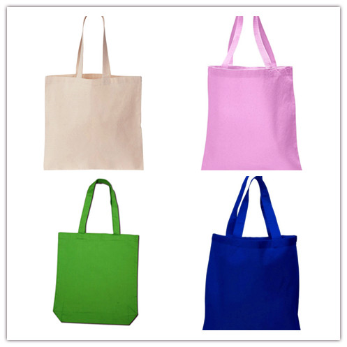 Multicolored simple portable bag
