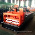 Novo design botou hebei fornecedor material de construção cor 828 telha vitrificada folha de ferro rolo de metal formando máquinas