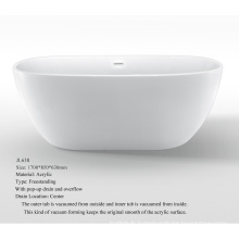 Egg Like Hot Tub, Freestanding Bathtub