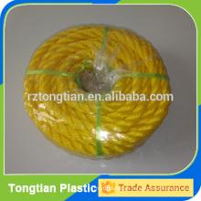 Tipo de cuerda torcida y cuerda de embalaje de materiales PP
