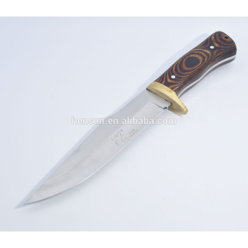 Bowie Military Fix Klinge Full Tang Knife