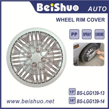 Vente en gros d'accessoires automobiles en gros Matériau ABS Housse de roue de voiture