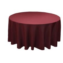 Tissu à table ronde