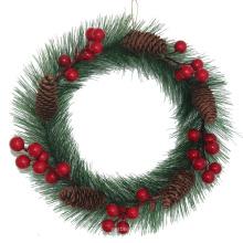 Décorations de Noël Ornements Couronne Décoration intérieure