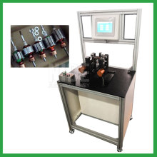 Armature dynamic balancing testing machine for motor rotor