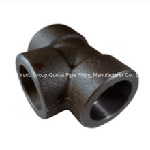 Pipe Fitting Carbon Steel Socket Tee