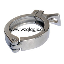 Sanitary Stainless Steel Pipe Fitting Tri Clover Clamp