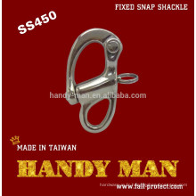 SS450 Stainless Steel 316 Fixed Snap Shackle