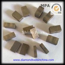 Segmentos de diamante para moagem de piso