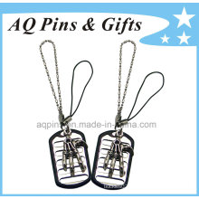 Custom 3D Zinc Tag with Metal Chain