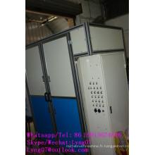 Brosse à fil en acier automatique à grande vitesse à grande vitesse de 4 axes de commande numérique par ordinateur faisant la machine