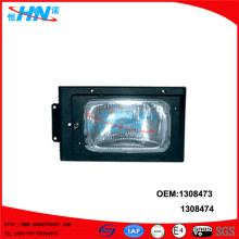 Manual Head Lamp 1308473 1308474 Scania 3 Series Parts