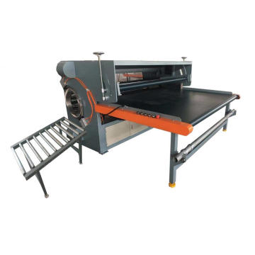 Automatic pocket spring mattress rolling machine