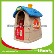 Indoor Plastic Kids Playhouse pour Role Play, petit Cubby House LE.WS.004 Quality Assured