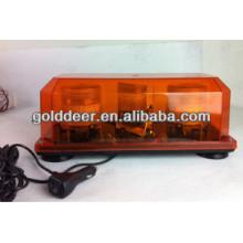 Двойной строб маяк световая панель LED предупреждение Мини бар (TBD02451-2B)
