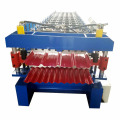 Color Steel Construction Double Roof Roll Forming Machine