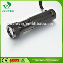 Profissional 12000-15000MCD 12 levou mini alumínio levou tocha lanterna
