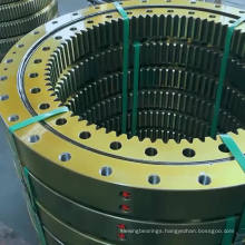 Anti friction material alloy steel slewing bearing and turntable bearing for rotation equipment