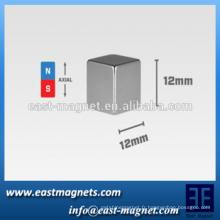 """2015 personnalisez l'aimant carré, le cube de 12 mm (0.47 """") / l'aimant carré de nickel"""