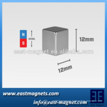 """2015 customize Square Magnet, 12mm cube (0.47"""")/nickle square magnet"""