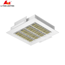 CE Rohs 100W 150W 200w gas station led canopy lights led gas station canopy lights with 130LM per watt