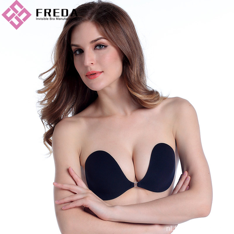 Sexy Push-up front-sluiting Backless strapless bh's