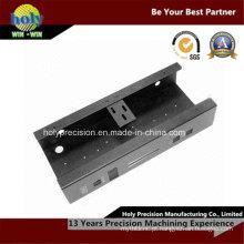 Perfuração do CNC e parte de chapa metálica dobra CNC