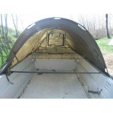Barco de pesca mais largo 420cm com tenda