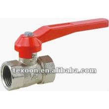 forged brass ball valves with chrome plated BSP