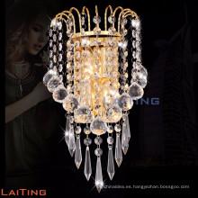 Lámpara de pared de cristal moderna interior para sala de estar 32432